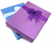 Organza ribbon boxes